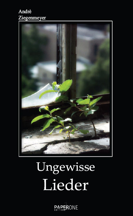 """Cover von """"Ungewisse Lieder"""""""